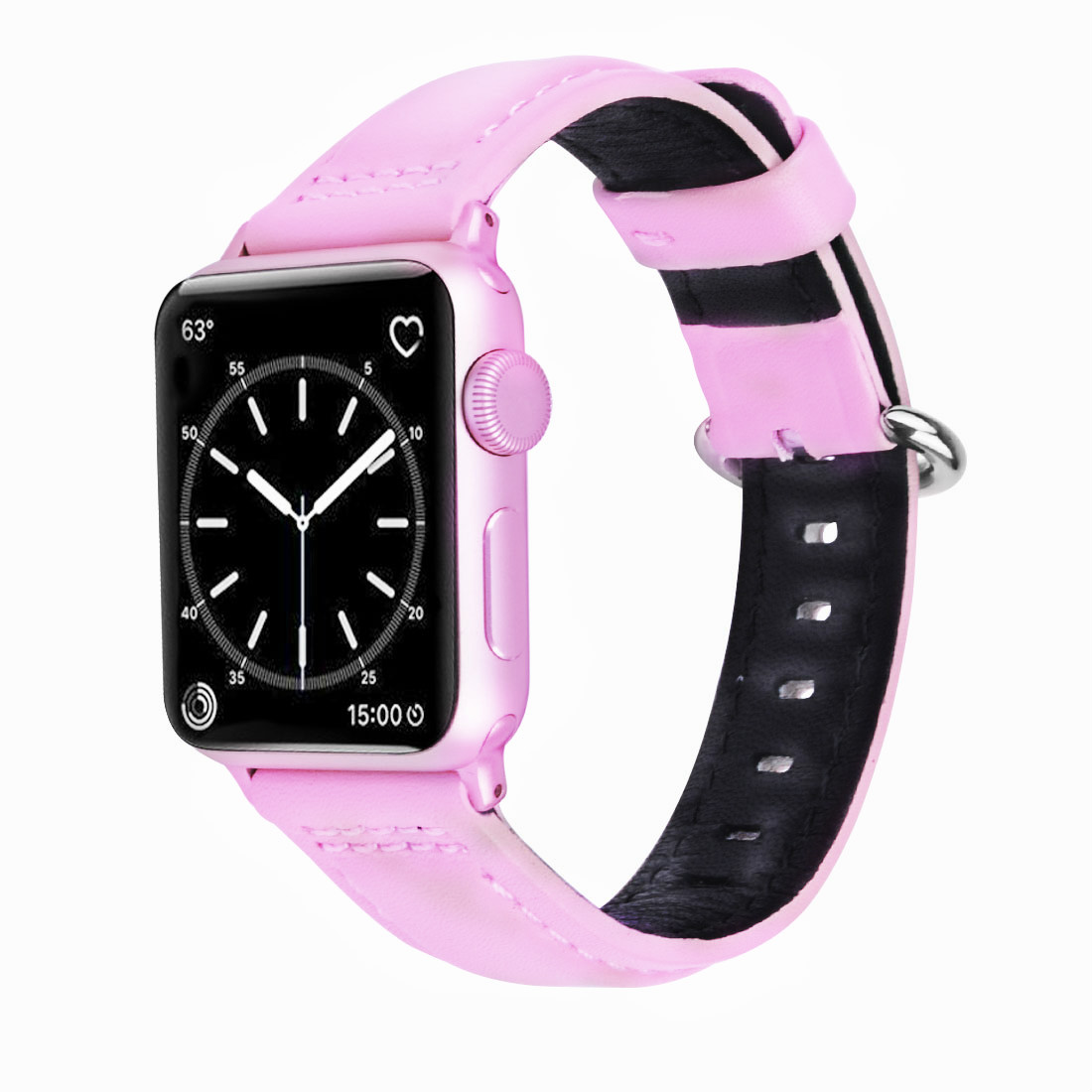 Apple Watch Band Wolait Soft Genuine Sheep Leather Bands Strap For Series 2 38mm Black 3 1 Rose Gold