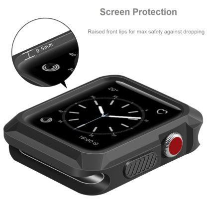 Apple Watch Case 42mm, Wolait Rugged Protective iWatch Case Cover for Apple Watch Series 3/2/1 2