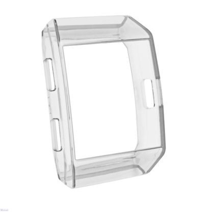 Fitbit Ionic Case, Wolait TPU Protective Frame Shock Resistant Bumpe for Ionic Smart Watch -Clear 2